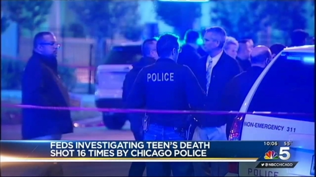 [CHI] Feds Launch Criminal Probe Into Teen Shot 16 Times by Police