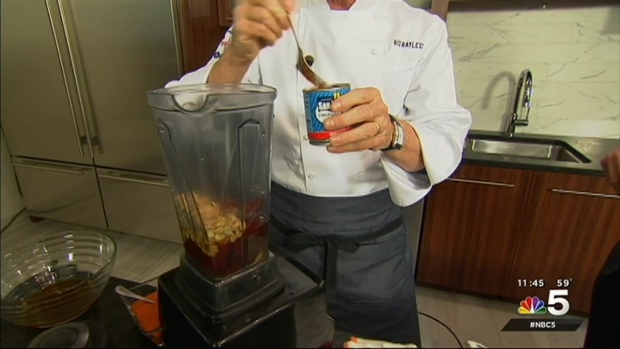 [CHI] Cooking With Chicago Chefs: Rick Bayless Makes Salmon With Toasty Peanut Sauce