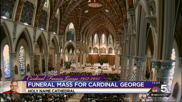 Cardinal Francis George's Funeral, Part 3