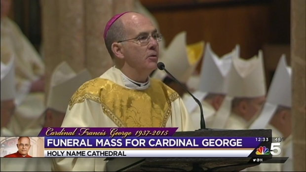 Cardinal Francis George's Funeral, Part 4