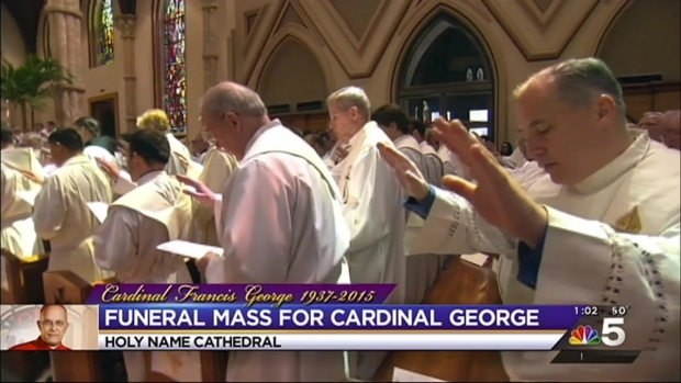 Cardinal Francis George's Funeral, Part 7
