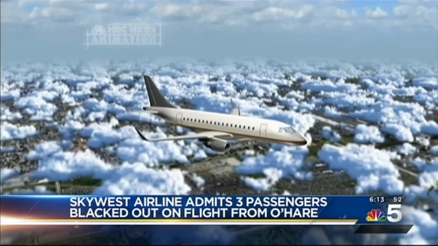 [CHI] Skywest Airline Admits 3 Passengers Blacked Out on Flight From Chicago