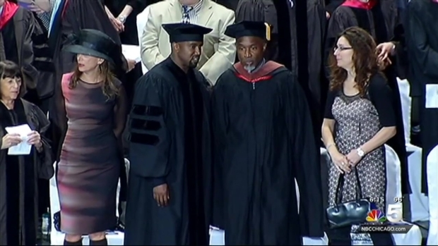 [CHI] Kanye West Accepts Honorary Doctorate from School of the Art Institute of Chicago