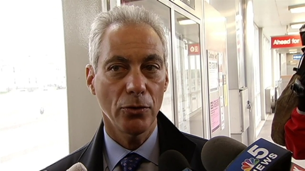 "[CHI] Mayor Emanuel Says Obama Library Will be ""Groundbreaking"" for Chicago"