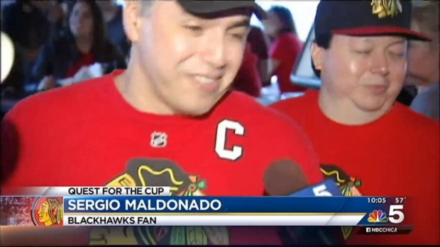 [CHI] Hawks Fans React to Disappointing Game 2