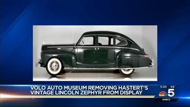 [CHI] Volo Auto Museum to Remove Hastert's Car