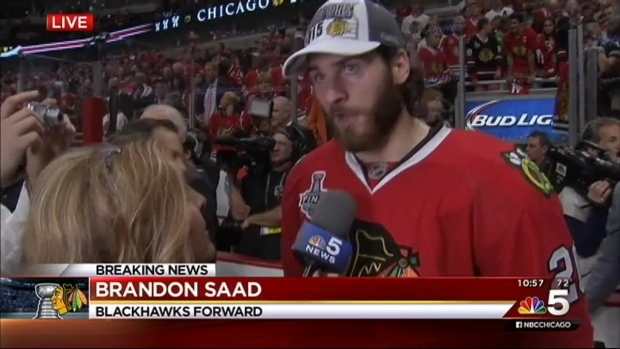 [CHI] Brandon Saad Talks Personal Heroes, Hopes for Future