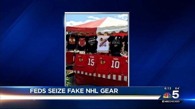 [CHI] Feds Seize Fake Blackhawks Gear