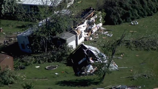[CHI] Sky 5 Footage Shows Damage in Sublette