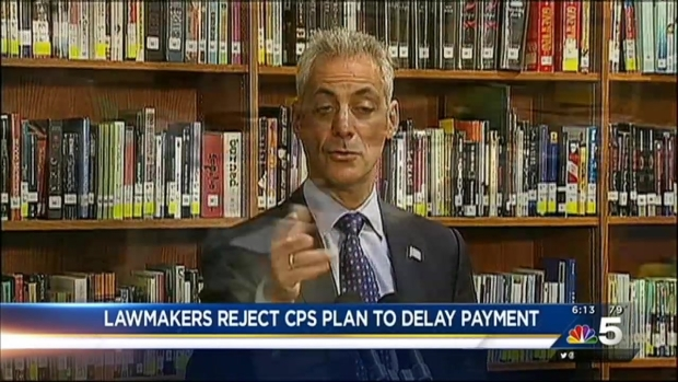[CHI] Lawmakers Reject Plan to Delay CPS Pension Payment