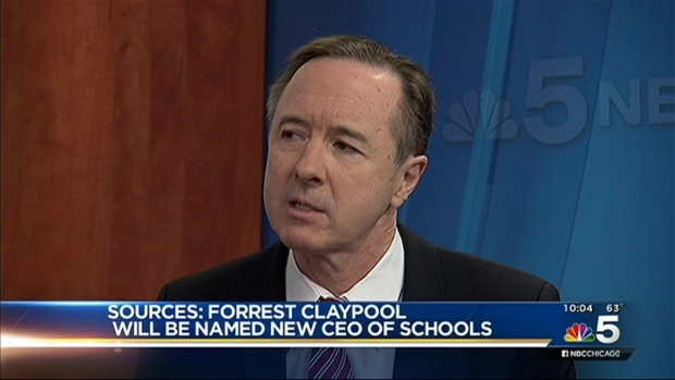 [CHI] Forrest Claypool to be Named New CEO of Chicago Public Schools: Sources