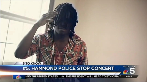 [CHI] Hammond Police Shut Down Chief Keef Hologram Concert