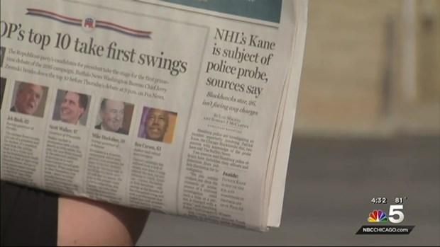 [CHI] Blackhawks' Patrick Kane Subject of Rape Investigation: Reports