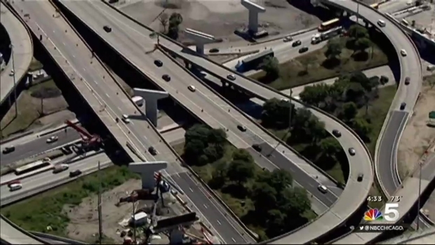 [CHI] Lane Closures for Jane Byrne Interchange Begin