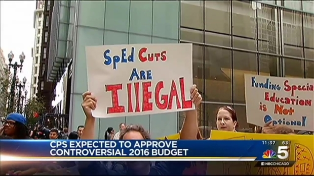 [CHI] Chicago Board of Education Expected to Approve Budget Amid Protests