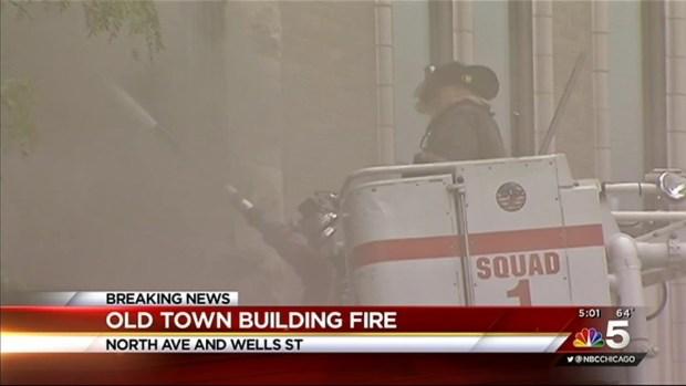 [CHI] 3-Alarm Fire Tears Through Old Town Restaurant