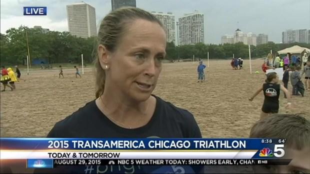 Thousands Participate in Transamerica Chicago Triathlon