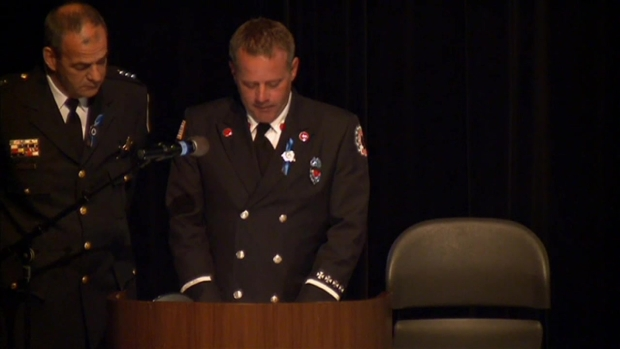 [CHI] Lt. Gliniewicz's Brother Memorializes Fallen Officer at Funeral