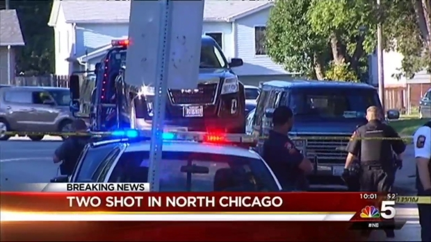 [CHI] 2 Injured in Shooting in Suburban North Chicago