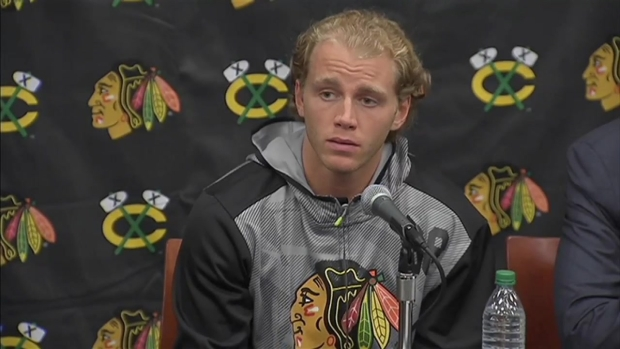 [CHI] Patrick Kane Responds to Reporters' Assault Questions