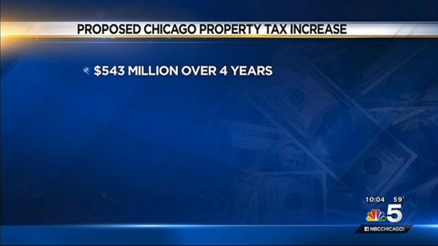 [CHI]Major Property Tax Hike Looms on Eve of Mayor's 2016 Budget Address