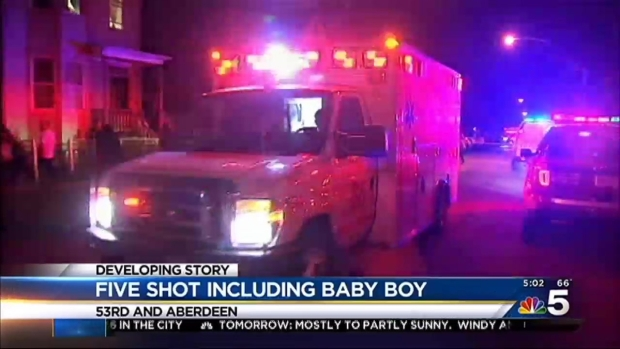 [CHI] 2 Dead, 3 More Injured Including Baby Boy in Back of Yards Shooting