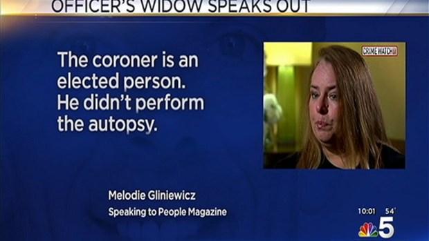 [CHI] Fox Lake Officer's Widow Break Silence