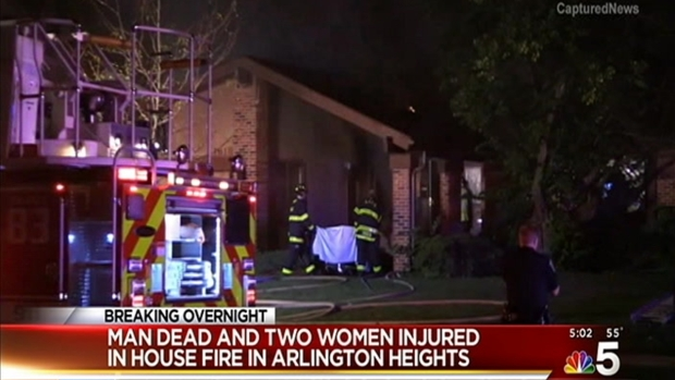 [CHI] Man Dies in Arlington Heights House Fire
