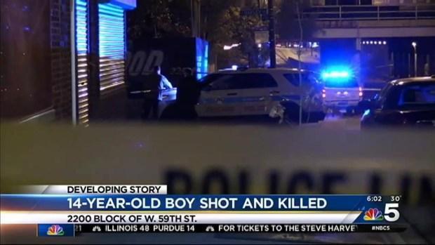 [CHI] Boy, 14, Shot to Death on Southwest Side