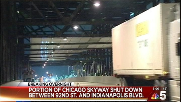 [CHI] Portion of Skyway Shut Down Due to High Winds