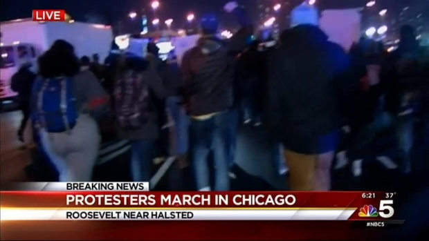 Protesters Come Together After Release of Laquan McDonald Shooting Video