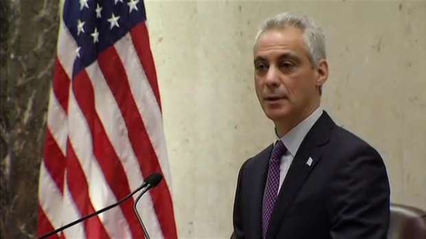 [CHI] Mayor Emanuel Delivers Special Address to City Council