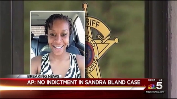 [CHI] Prosecutor: No Indictment in Sandra Bland Jail Death