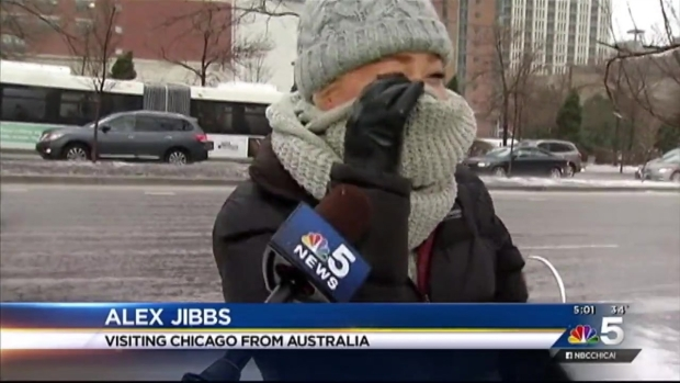 [CHI] High Winds Whip Chicago As Winter Storm Descends