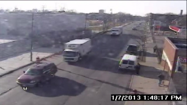 WARNING: Surveillance Video of Fatal Chicago Police Shooting of Cedrick Chatman