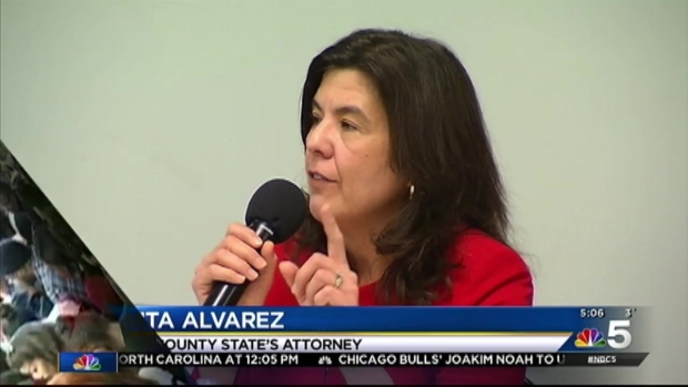 [CHI] Anita Alvarez Defends Herself at State's Attorney Forum