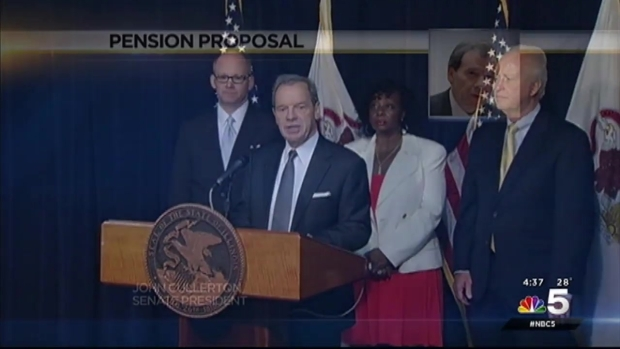 [CHI]Rauner Backs Democratic Pension Reform Plan