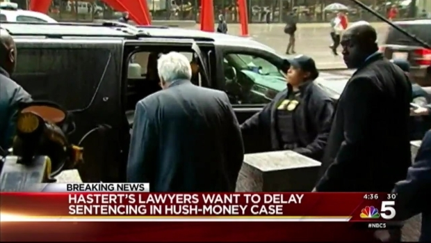 [CHI] Dennis Hastert's Lawyers Ask for Delay in Sentencing