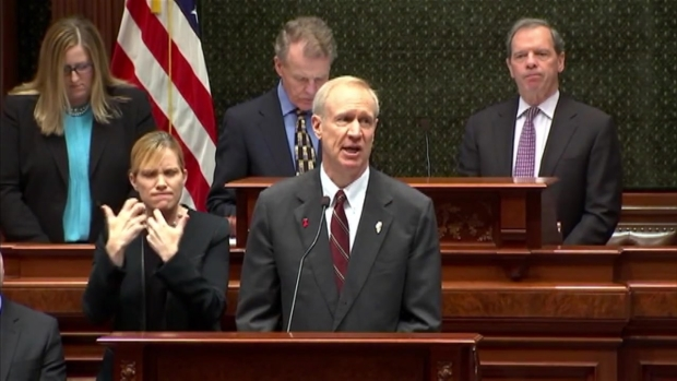 [CHI] Gov. Rauner Delivers 2017 Budget Address