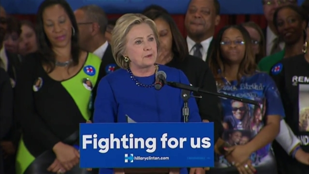 [CHI] Hillary Clinton Excited 'To Be Competing Again in Illinois'
