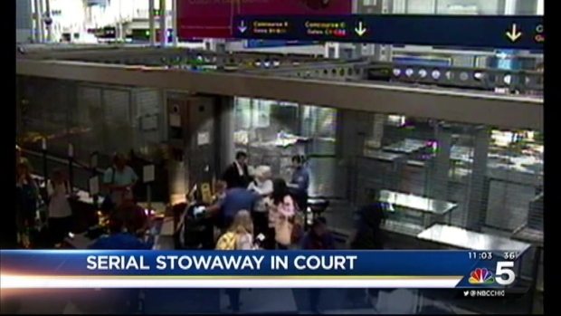 [CHI] 'Serial Stowaway' Held on $200K Bond After Another Airport Arrest