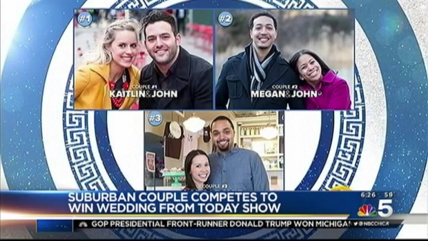 [CHI] Meet the Chicago Couple Vying to Win 'Today' Show's Dream Wedding