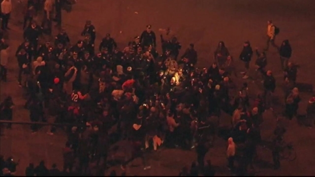 [CHI] Sky 5: Brawls Break Out in Large Crowds After Trump Cancels Chicago Rally
