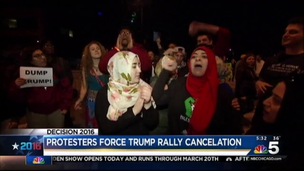[CHI] Trump Rally Canceled