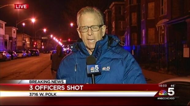 [CHI] 3 Chicago Officers Shot on West Side: Police