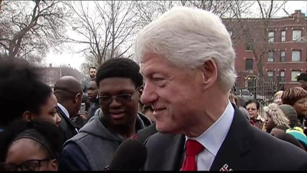 [CHI] Bill Clinton in Austin