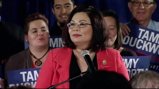 [CHI] Duckworth on U.S. Senate Primary Win: 'Tonight We Sent a Message'