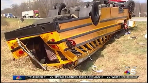 High School Basketball Players Injured in Bus Crash