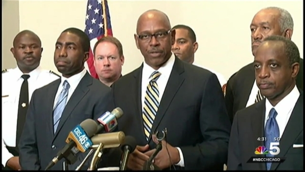 [CHI]Mayor Announces Johnson as Interim Police Superintendent