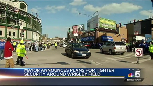 [CHI] Emanuel Announces Security Changes at Wrigley